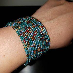 Jewelry - Multicolored Beaded Bracelet